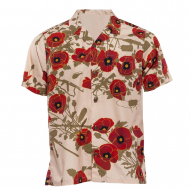 Рубашка Aloha Shirt Poppies of War Otte Gear VINTAGE